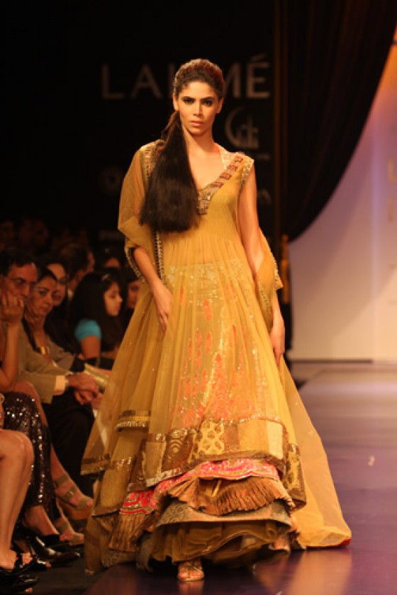 Manish malhotras opulent frocks with