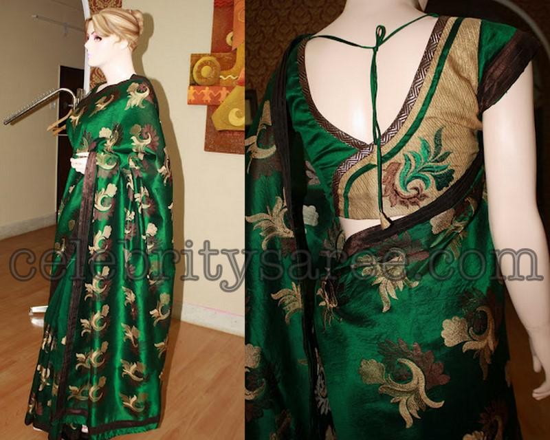 TOP 40 Beautiful Silk Pattu Saree Blouse Designs 2018